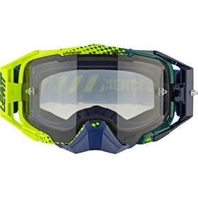 Leatt Velocity 6.5 Anti Fog Goggles, lime/ light blue